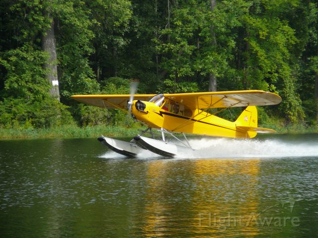 N1586N — - Touch and Go on the Lamoille River, VT