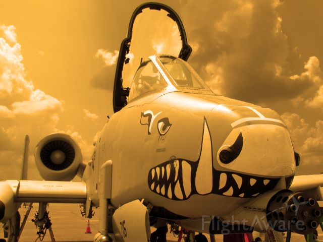 Fairchild-Republic Thunderbolt 2 — - A-10 Warthog