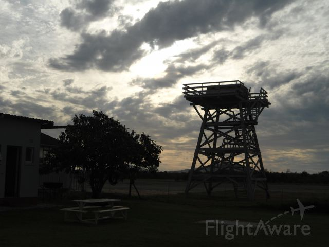 — — - Tower, FAFK, ex RAF WWII training base for Spitfires
