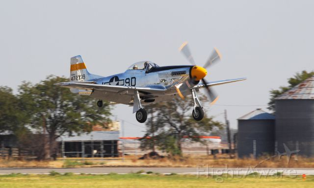 "NL51JC — - North American P-51D Mustang ""The Brat III"" - NL51JC, Cavanaugh Flight Museum, at KLNC"