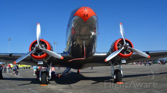 Douglas DC-3 (NC17334) - MYR Airshow 2018