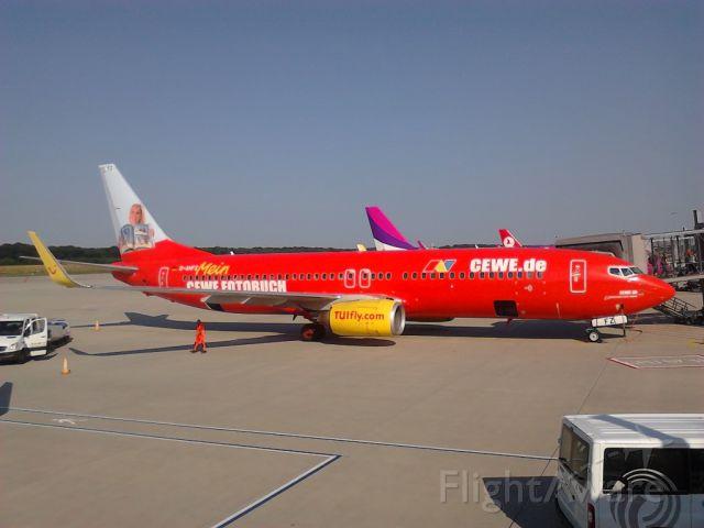 Airbus A320 (D-AHFZ) - CEWE AIR/CEWE MEIN FOTOBUCH