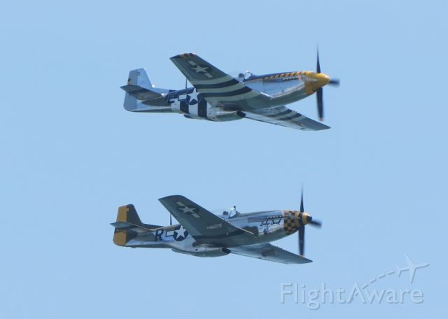 North American P-51 Mustang (N51JB) - Bald Eagle and Baby Duck at the Atlantic City Air Show