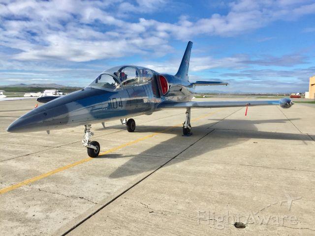 Aero L-39 Albatros (N39SR) - Beautiful L39 sitting on the ramp at Hollister, CA - Nov. 30th, 2016