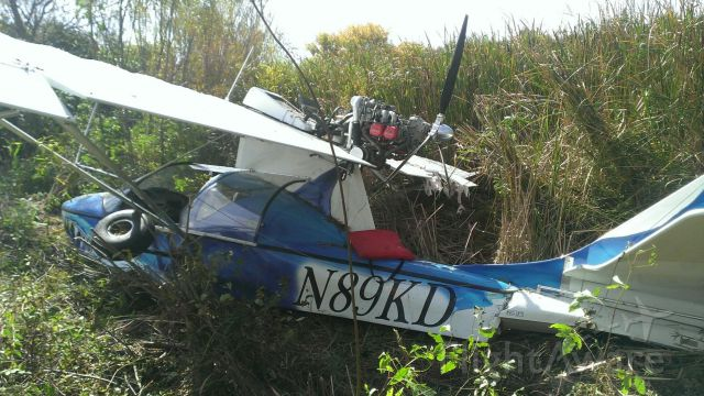 PROGRESSIVE AERODYNE SeaRey (N89KD) - After midair with C172 N9679H near Lancaster ny