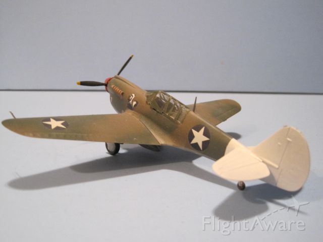 — — - 1/72 scale model of Curtiss P-40N Warhawk.  Markings for Southwest Pacific theater.