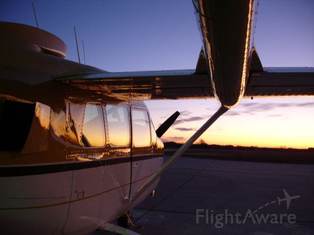 Cessna Super Skymaster (N2469S) - Early Morning Winter 2010 Departure!