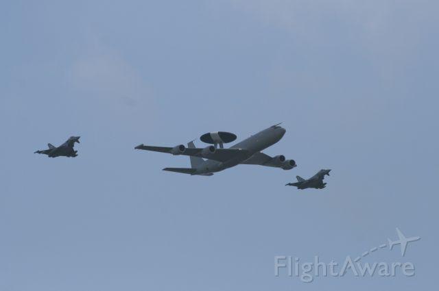 — — - Leuchers air force base air show. Arriving Dutch Air force aircraft.