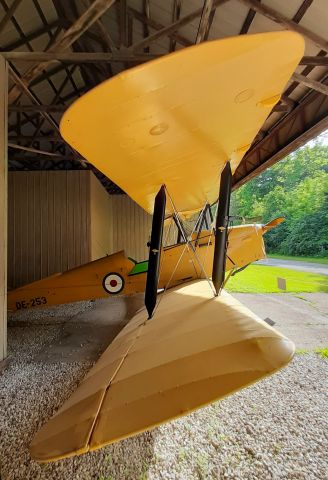 OGMA Tiger Moth (C-FBNL) - DH82A Tiger Moth CF-BNL, original RAF registration DE-253.