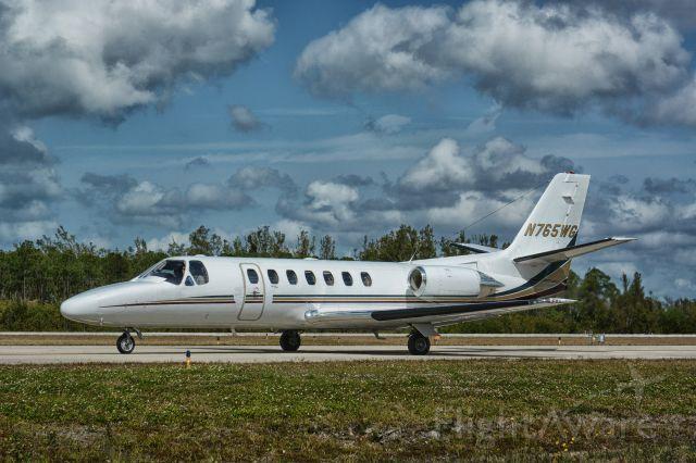 Cessna Citation V (N765WG)