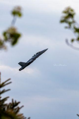 16-4656 — - An F/A-18D Legacy Hornet departing KGRR