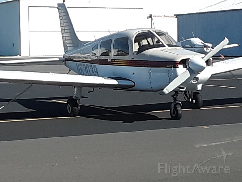 Piper Cherokee (N83039) - N83039 after a bad day
