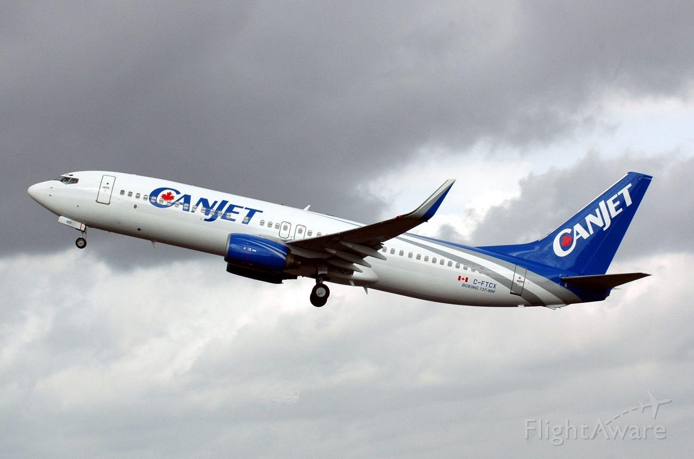 Boeing 737-800 (CJA908)