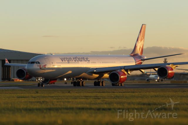 — — - Virgin Atlantic A346, taxiing to 27R at EGLL.