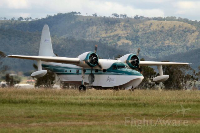 FRAKES Turbo Mallard (VH-CQA) - Beautiful aircraft tragically lost with its dedicated crew recently in Perth Australia