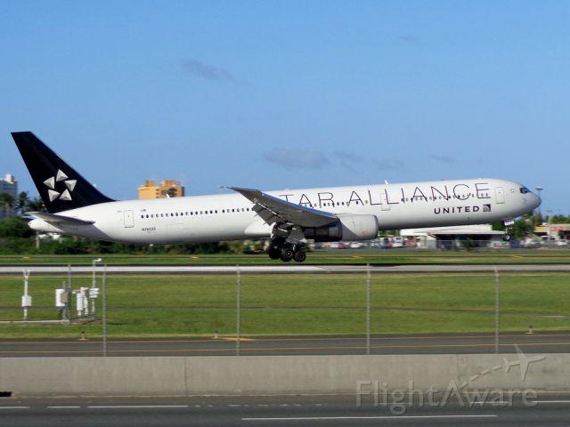 BOEING 767-400 (N76055) - Star Alliance!