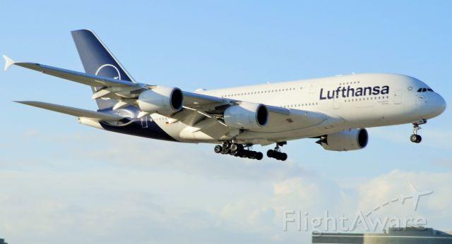 "Airbus A380-800 (D-AIMC) - This splendid""Leviathan""In New Lufthansa livery!"