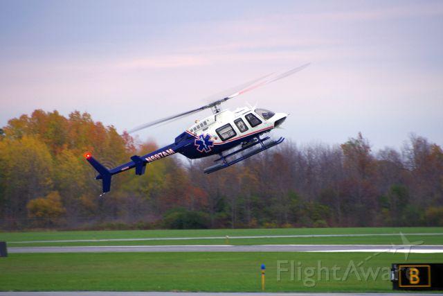 Bell 407 (N697AM) - Autorotation training