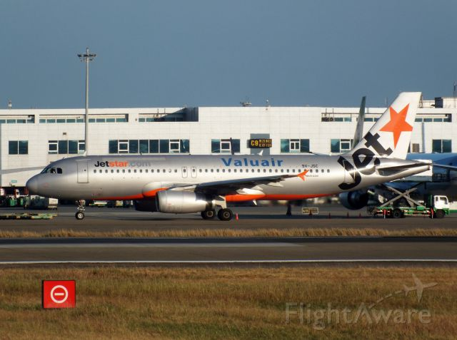 Airbus A320 (9V-JSC) - Jetstar Airways