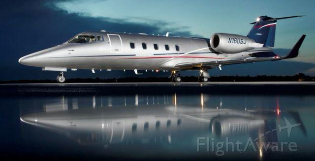 Learjet 60 (N160SJ)