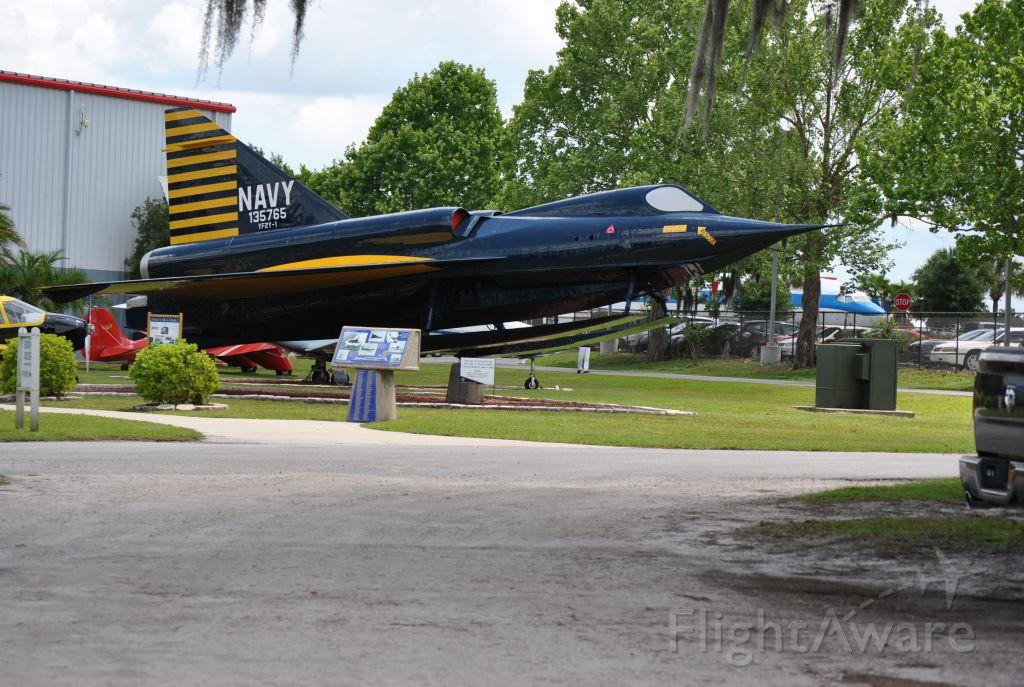 — — - Convair YF2-1 Sea Dart at Florida Air Museum