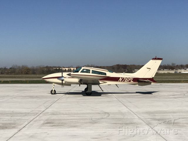 Cessna 310 (N76PL) - A Cessna 310 parked At JXN