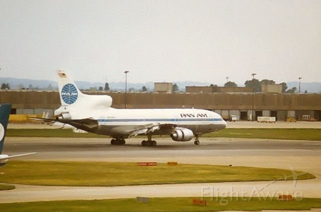 Lockheed L-1011 TriStar — - PAN AM L1011-500 archief jul82