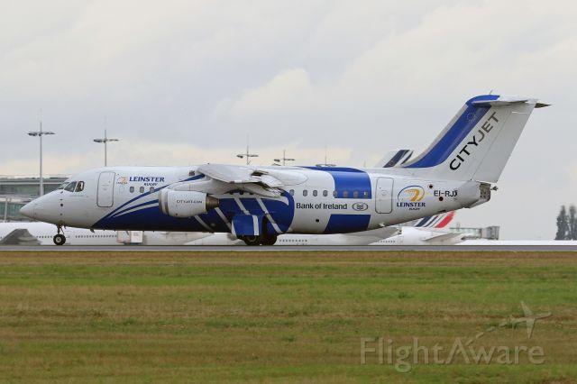 """Avro Avroliner (RJ-85) (EI-RJX) - """"Leinster Rugby"""" livery"""