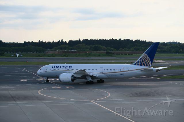 Boeing 787-8 — - Narita May 4 2015