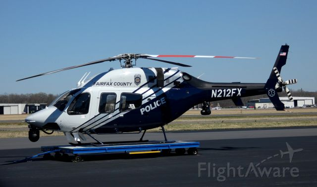 Bell 429 GlobalRanger (N212FX) - 2011 Bell from Fairfax County Police/EMS, spring 2021.