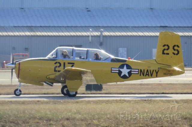 Beechcraft Mentor (N2VY) - William Smith Jr.'s Beechcraft T-34 Mentor 12/26/13