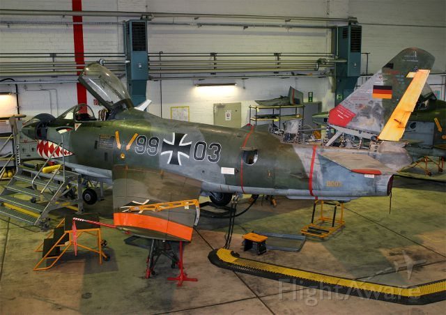 N9903 — - 9903 is a FIAT G-91R/3 used as an instrucxtional airframe