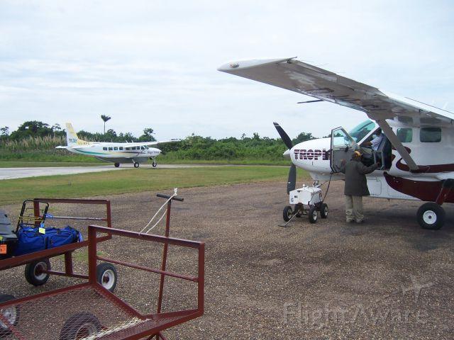 Cessna Caravan — - Dangriga Airport, Belize (IATA: DGA)