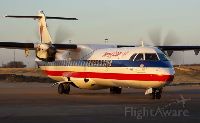 ATR ATR-72 (N498AT) - Feb. 16, 2011.