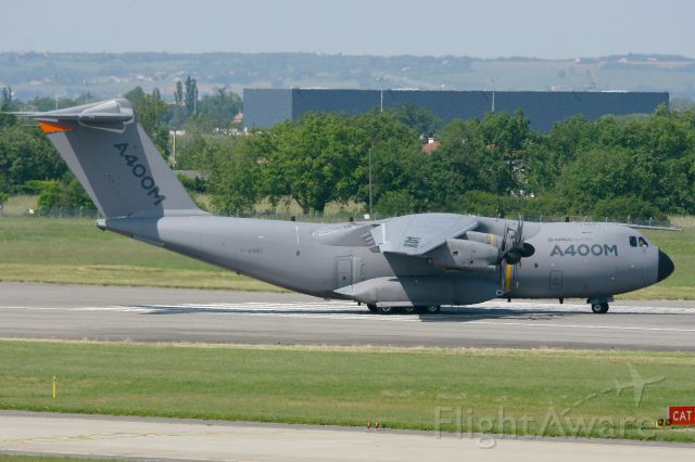 AIRBUS A-400M Atlas (F-WWMS) - Airbus Military A-400M Atlas, Taxiing to holding point Rwy 14R, Toulouse Blagnac Airport (LFBO-TLS) in may 2013