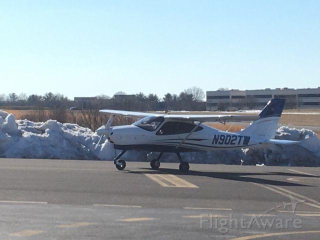 TECNAM P-2008 (N902TW) - N902TW (P208) arriving at Wings Field (KLOM)br /Photo Date: March 7, 2021