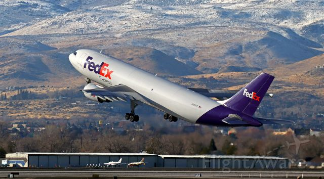 """Airbus A300F4-600 (N662FE) - Fed Ex's """"Vanesse"""" (N662FE) is just off 16R and on the way to Memphis (KMEM)."""