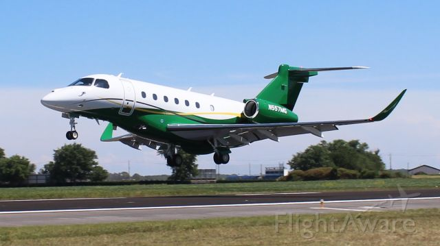 Embraer Legacy 550 (N557MG) - An Embraer Praetor 600 arriving Pryor regional Airport, Decatur, AL - afternoon of August 17, 2020. As far as I could research, this is one of only 13 Praetor 600's currently in existence.