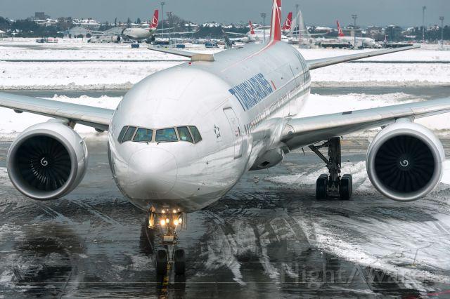 BOEING 777-300 (TC-LKC) - 10th Jan., 2017