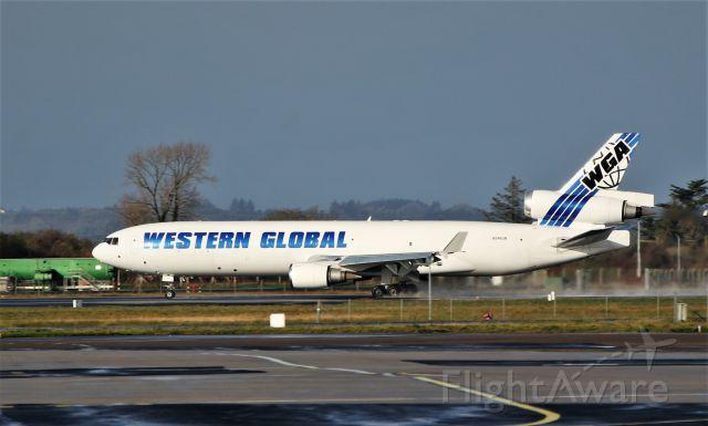 Boeing MD-11 (N546JN) - western global md-11f n546jn dep shannon 11/11/19.