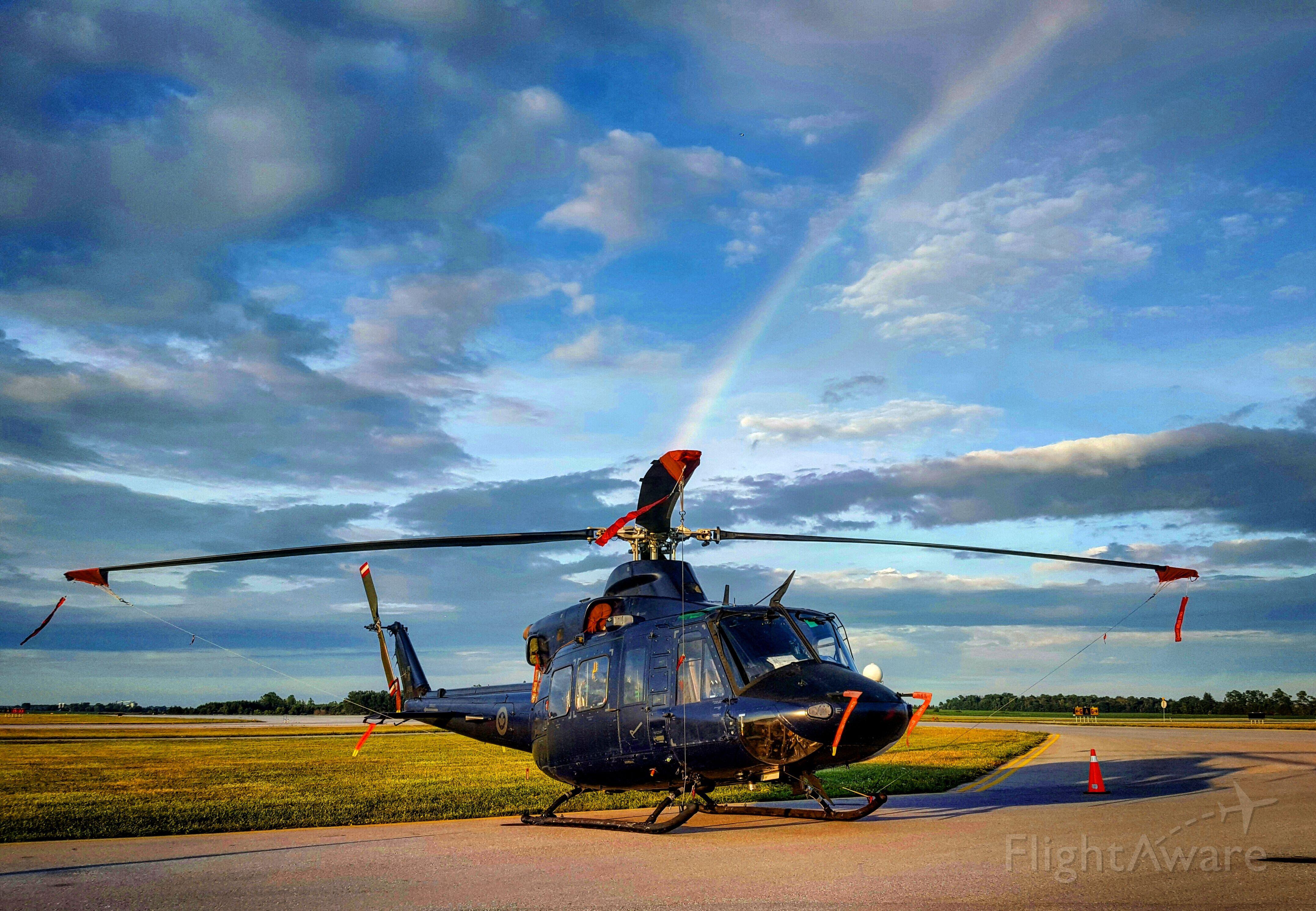 Bell 412 — - CH-146 Griffon rainbow
