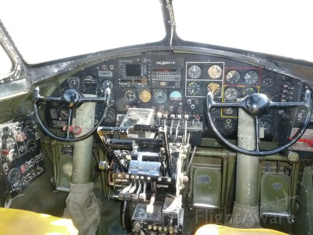 N93012 — - cockpit of 909.  You may note the current registration is plainly insight NL93012