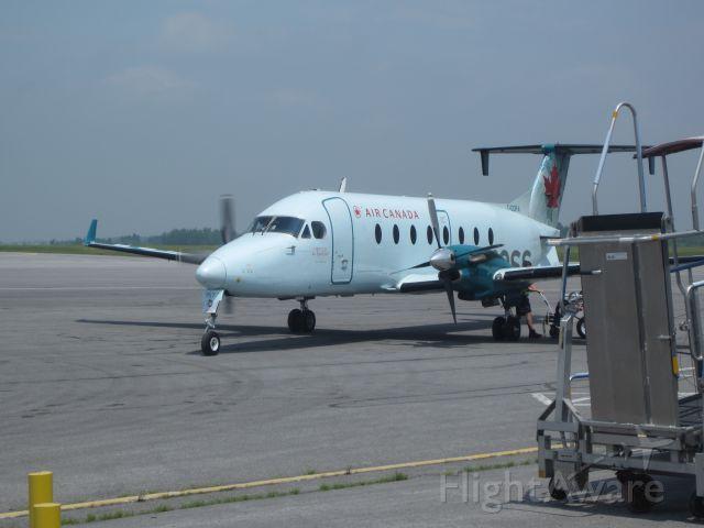 Beechcraft 1900 (C-GORA) - This terminating another flight into Kingston from Toronto Pearson intl.
