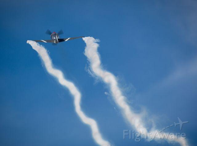 "YAKOVLEV Yak-3 (ZK-YOV) - ""Steadfast"" departing off RW01."