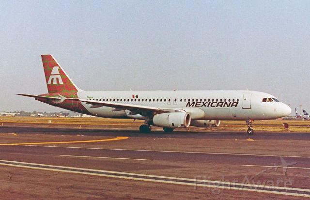 """Airbus A320 (XA-RZU) - Mexicana / Airbus A320-231 - MSN 252 / XA-RZU """"Tlapa"""" / MMMX 1992"""