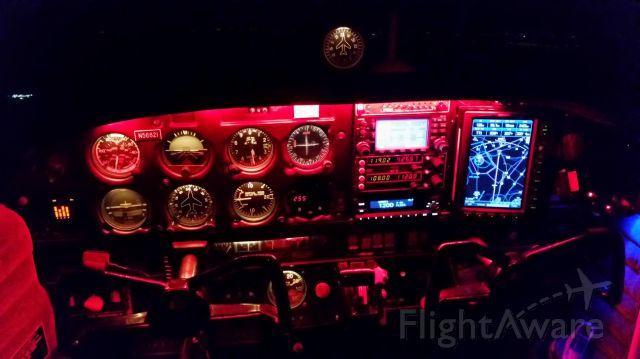 Piper Cherokee (N56821) - Night flying