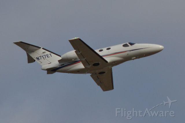 Cessna Citation Mustang (N717ET) - FAIRWAY AVIATION LLC departing KJQF - 2/14/18