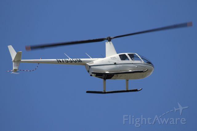 Robinson R-22 (N7530M) - Over Mercer Island, WA