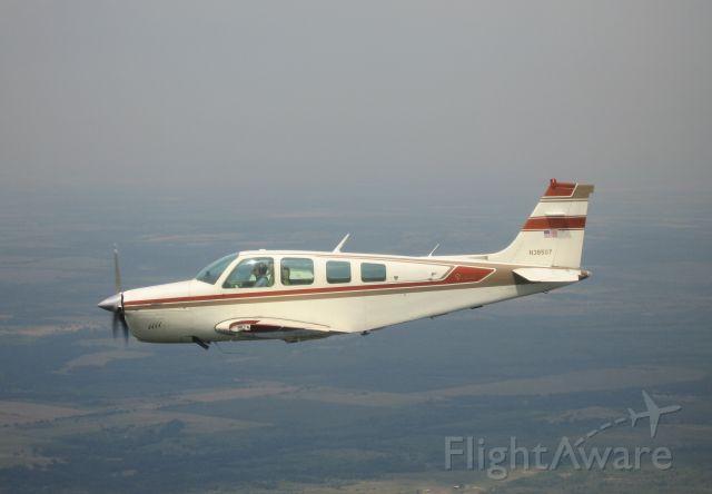 Beechcraft Bonanza (36) (N38507) - In-Flight