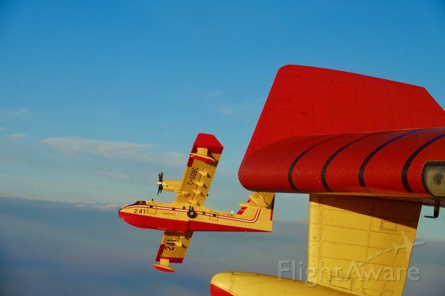 Canadair CL-415 SuperScooper (C-GQBC)